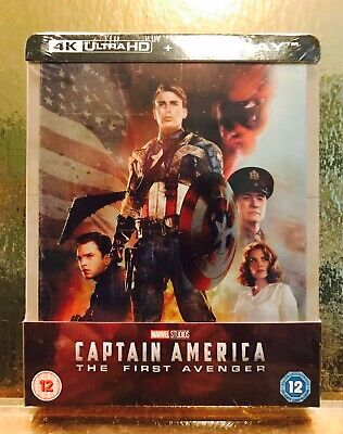 STEELBOOK Captain America The first avenger [ Zavvi Limited ] 2D/4K