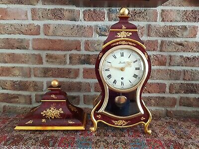 Luxury Swiss Made Zenith Boulle clock with Matching Console (Big size) 1950