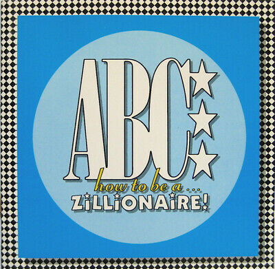 "ABC - HOW TO BE A ZILLIONAIRE - CD Album © 1985>12""Mixes>Be Near Me,Vanity Kills"