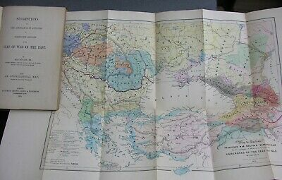 The Languages of the Seat OF WAR IN THE EAST. Ethnological Map. Max Müller. 1853