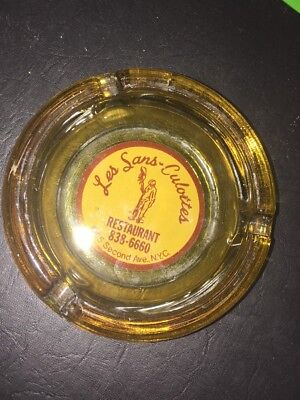 Vintage Advertising Les Sans Culottes Restaurant Ashtray 2Nd Ave Nyc