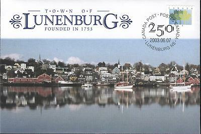 Canada Special Events Covers S55 Town of Lunenburg