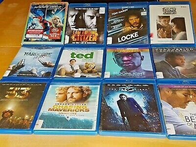 Blu-ray Whole Sale Lot, 12 Blu-ray Disc Lot
