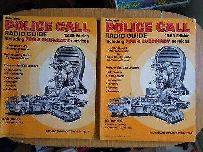 RADIO SHACK POLICE CALL Frequency Guide Scanner Reference