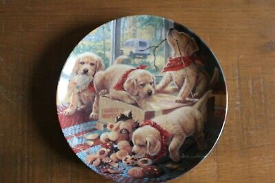 BRADFORD EXCHANGE collectors plate 'HANDLE WITH CARE' 1993 boxed with COA
