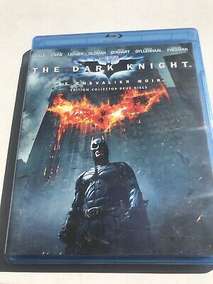 Batman - The Dark Knight blu-ray français - french Édition Collector
