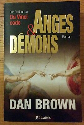 Livre Anges Et Demons De Dan Brown Format Broche Eur 3