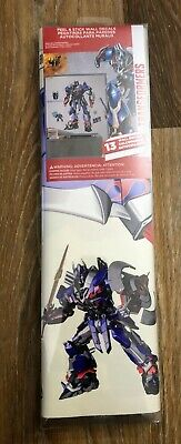 Transformers Age of Extinction Optimus Prime Peel and Stick 13 Wall room Giant