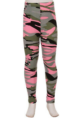 Pink Camo Amazing Buttery Soft Leggings Kid's S/M & L/XL