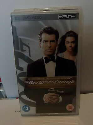 The World is not Enough  (very good)  Sony PSP UMD Video Movie