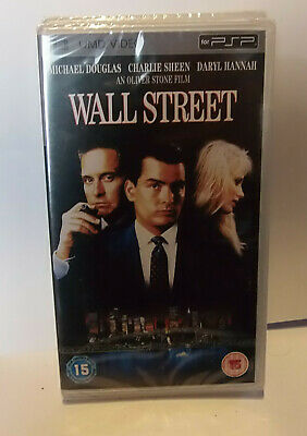 Wall Street  (New and Sealed) Sony PSP UMD Video Movie