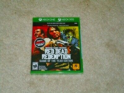 Red Dead Redemption Game Of The Year Edition..xbox One..xbox 360..**New**!!!!!