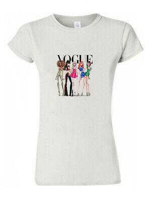 Spice Girls Vogue Fashion T-Shirt Trendy 90's Vintage Men Women Unisex M259