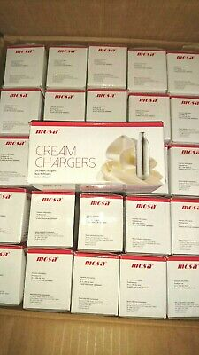 150 x mosa whipped Cream Chargers Whipper NOS NOZ N2O Nitrous Oxide Canister 8g