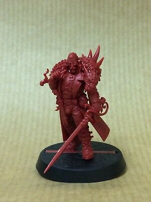 Warhammer Quest Blackstone Fortress Rogue Trader Janus Draik new on Sprue 40K