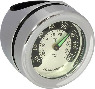 Drag Specialties 2212-0726 Bar Mount Thermometer
