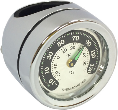 Drag Specialties 2212-0724 Bar Mount Thermometer