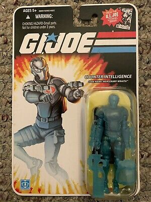 Gi Joe 25th Wraith Canada Bilingual Version 3 3//4 Action Figure Package