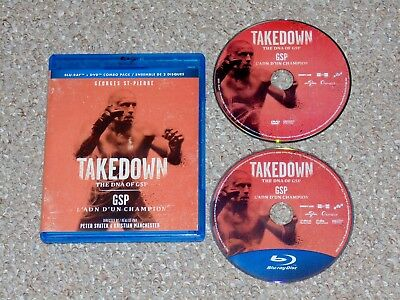 Takedown: The DNA of GSP Blu-ray/DVD Combo 2014 Canadian Georges St-Pierre