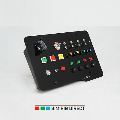 Button Box for Sim Racing Game Flight Simulator ETS ATS Control Panel Sim Rig