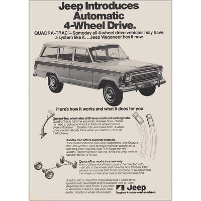 Transportation Hearty 1977 Jeep Dlx Catalog Brochure 36-pgs Honcho Wagoneer Cj-7 Renegade Amc Xlnt