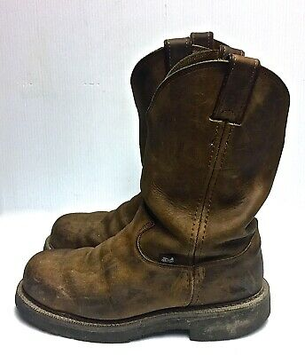 341706a1332 JUSTIN WORK BOOTS Mens STEEL Toe 11