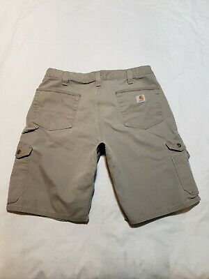 f24bb4e357 Carhartt B357 DES Relaxed Fit Ripstop Cargo Work Shorts Mens Size 36 - M2487