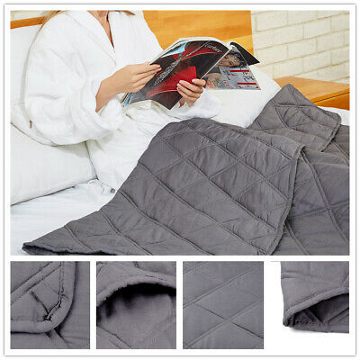 Cooling Weighted Blanket Perfect for Summer 48x72 | 60x80 Enjoy Quality Sleep