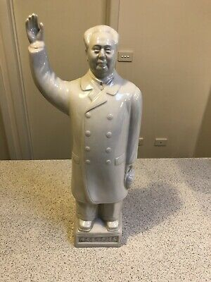 High Quality Chairman Mao Porcelain Statuette - Standing - Collectable