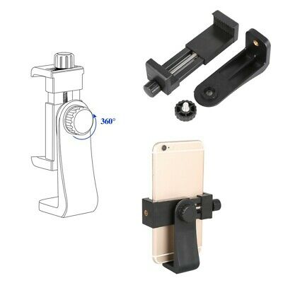Adjustable Cell Phone Tripod Universal Smartphone Holder Mount Adapter Clips New