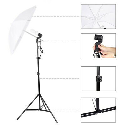 New Kshioe Selfie Ring Light Stand LED Ring Light Kit Reflexed Light Stand Black