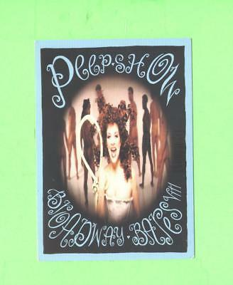 Oo Postcard Brodway Bares Peep Show Sexy Woman Beauty Advertising Card