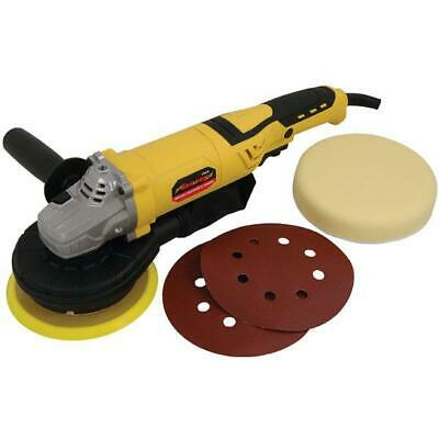 Electric Orbital Polisher / Sander with Pads & Discs (Genuine Neilsen CT4618)