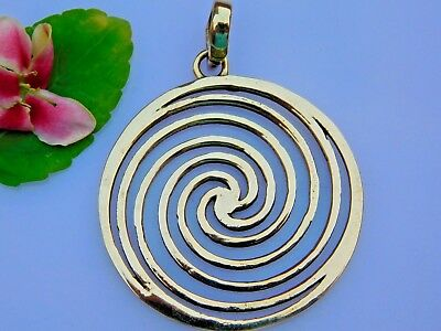 Circle of Life Tribal Brass Pendant Sacred Jewelry Ethnic Pendant Tribal Jewelry