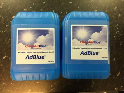 AdBlue 20 Litres Fuel ADDITIVE  for SCR VW AUDI Diesel Vehicles + Spout add blue