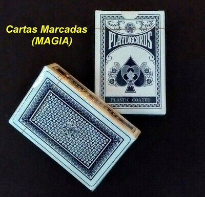 Deck Of Magic Trick Cards - Stripper / Tapered & Secret Marked BARAJA MAGIA