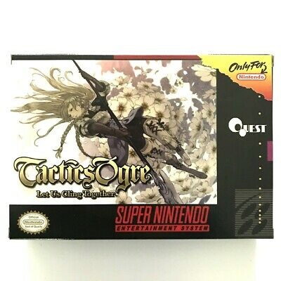 TACTICS OGRE - Let Us Cling Together - Sequel game For SNES