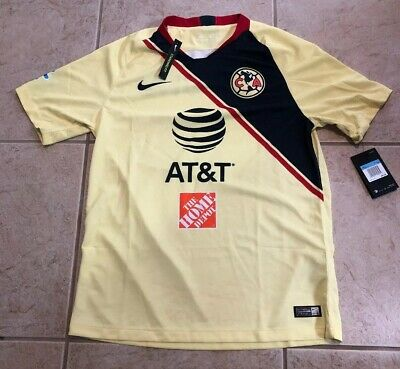 63c14ce0fd0 Nike Club America Official 2018-2019 Home Soccer Football Jersey size Medium