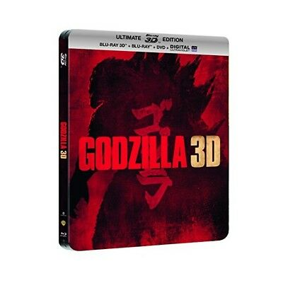 "Godzilla ""Edition Steelbook 3D"" - Bluray 3D + 2D + Dvd - Neuf Sous Blister"