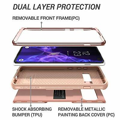 Samsung Galaxy S10 Plus Case Shockproof Slim PC TPU Rose Gold/Pink