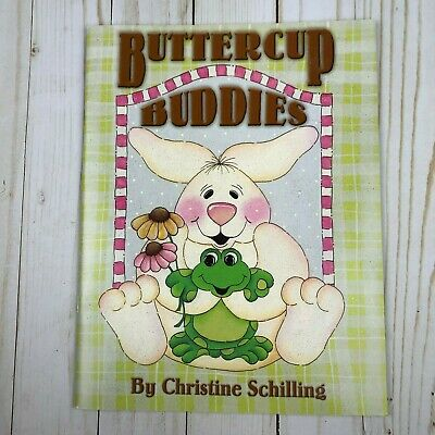 Buttercup Buddies Decorative Tole Painting Book by Christine Schilling