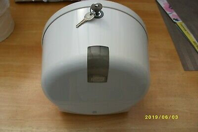 Tork Mini Jumbo Toilet roll dispenser + 4 toilet rolls & 2 keys
