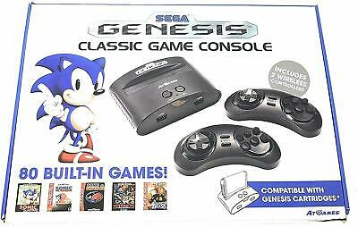 Sega Genesis Classic Game Console 2017 Plug & Play Video Game System New in Box