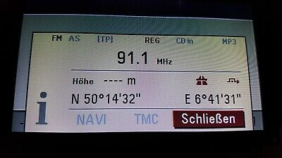 OPEL CID DISPLAY DB für VECTRA C SIGNUM CD-70 DVD-90 NAVI GARANTIE