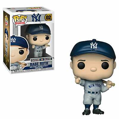 Babe Ruth #02 Funko Pop MLB Classic Cooperstown Collection