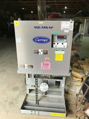 20 Ton Carrier Aquasnap model 30MPA0205OAO1005 Chiller with Remote Condenser