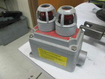 Appleton EFDC175-J2 9/93 Explosion Proof Enclosure Assembly W/Indicating Bulbs