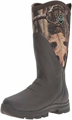 Muck Boot Woody Grit Camo Waterproof Warm Pull On Work Hunting Boot