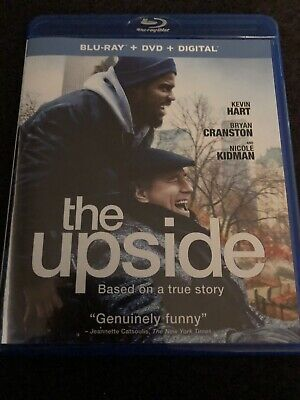 The Upside [2019] Blu-ray / Dvd Combo - Kevin Hart, Bryan Cranston