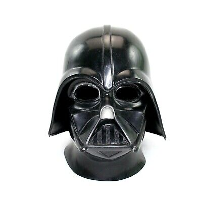 Original Darth Vader Mask Vintage 1977 Version Star Wars Helmet Mesh 2 Piece